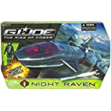 Gi Joe Movie 3.75 Echo Vehicle Night Raven with Air Viper