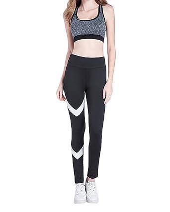 Yonglan Women s Workout Leggings Running Active Tights Yoga Pants Leg  Printing Pants Elastic High Waist Leggings 94c7cce6a878f