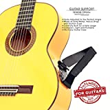 TENOR TPGS+ Professional Ergonomic Guitar Rest, Guitar Lifter, Guitar Foot Stool, Footstool Strap, Professional Posa Guitar Support for Classical, Flamenco, Acoustic or Arch Top Guitar Players