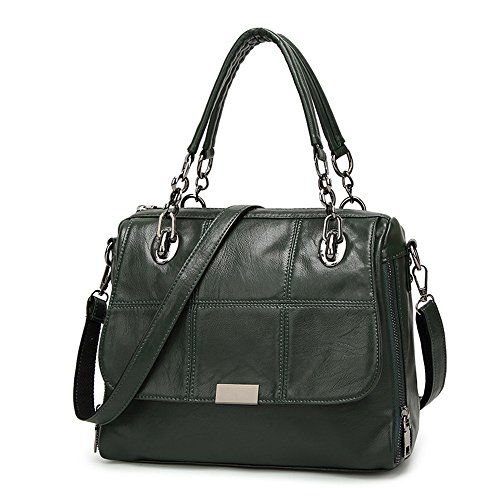Shoulder FangYOU1314 Large Green Blue Messenger Capacity Bag Color Bag Casual Waterproof Yr4qwS5gr