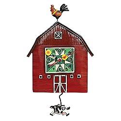 Barn Yard Pendulum Clock