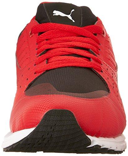 Puma Mens Pitlane Sf Sneaker Rosso Corsa-nero