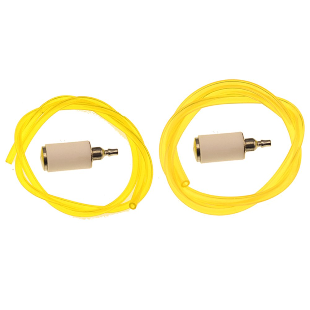 hipa 530069599 fuel line with 530095646 fuel filter for poulan cratman weed  eater string trimmer edger