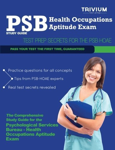 PSB Health Occupations Aptitude Exam Study Guide: Test Prep Secrets for the PSB HOAE by Trivium Test Prep (2013-06-11)