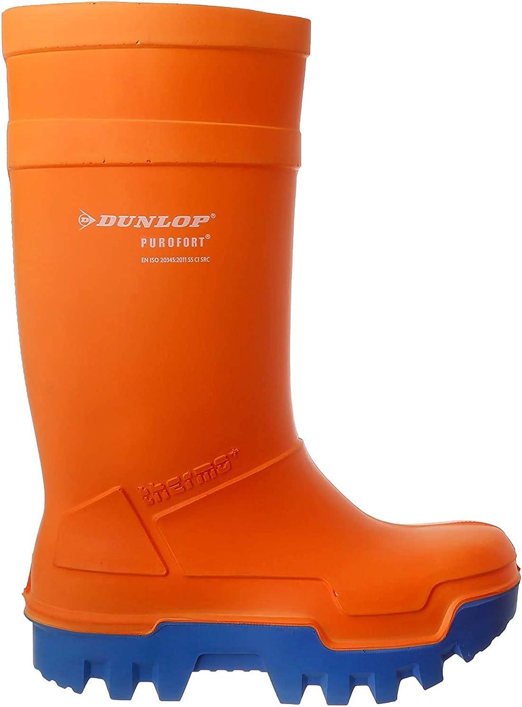 groen Gr/ün Dunlop Unisex-Erwachsene D760933 Purofort 43 Gummistiefel 08 EU Gr/ün