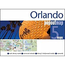 Orlando PopOut Map: Handy pocket size pop up map of Orlando and Walt Disney World Resort