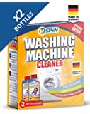 SPIN Washing Machine Cleaner, Double Pack, Made in Germany