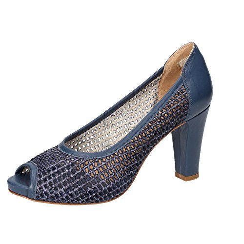CALPIERRE Zapatos de vestir de Piel para mujer Azul turquesa