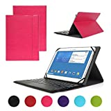 Windows & Android System Keyboard Case, SymbolLife Ultra Slim Faux Leather Case Cover + Wireless Bluetooth Touchpad Windows & Android System Keyboard for 10.1 inch Windows / Android Tablet