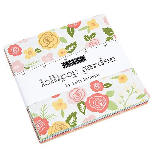 - MODA Lollipop Garden Charm Pack by Lella Boutique; 42-5