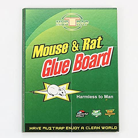 LB Mouse Rat Glue Traps, Strongly Adhesive & Extra Large, Mouse Size Traps Glue Sticky Board for Mice & Rodent &Pests & Bug & Ant & Spider - 3 (Ant Glue Trap)