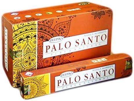 Palo Santo - Varillas de incienso (15 g, 12 paquetes)