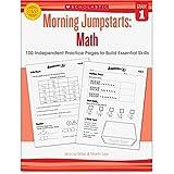 Scholastic Grade 1 Morning Jumpstart Math Workbook Education Printed Book for Mathematics - Book
