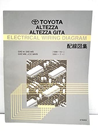 Amazon | TOYOTA/ALTEZZA ALTEZZA GITA ELECTRICAL WIRING DIAGRAM ... on toyota 22re vacuum line diagram, toyota alternator wiring, toyota schematic diagrams, toyota wiring color codes, toyota cylinder head, toyota electrical diagrams, toyota ignition diagram, toyota maintenance schedule, toyota headlight adjustment, toyota wiring manual, toyota wiring harness, toyota shock absorber replacement, toyota cooling system diagram, toyota headlight wiring, toyota flasher relay, toyota truck diagrams, toyota shop manual, toyota parts diagrams, toyota diagrams online, toyota ecu reset,