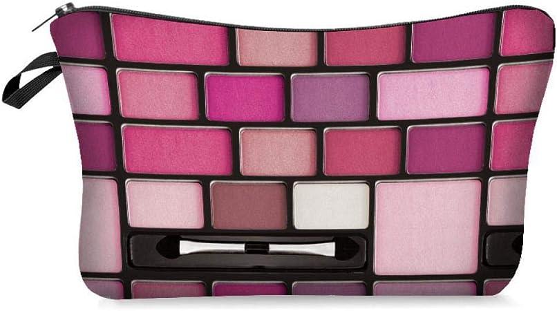 JIAN&K Bolsa De Cosméticos Cremallera Yotina Mujer Maquillaje Maquillaje Poliéster Maquillaje Estuche De Belleza Organizador Maquillaje Neceser: Amazon.es: Hogar