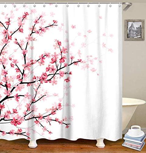 LIVILAN Bathroom Curtain Blossom Curtains product image