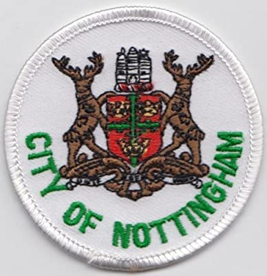 "Notts County 3/"" embroidered Iron Sew On Patch Badge"