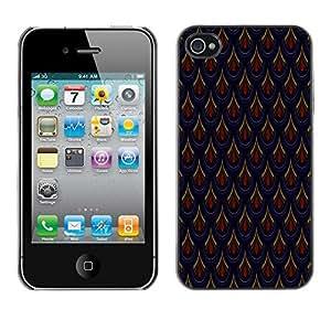 PatternViking PC Polycarbonate Aluminium Back Case Cover Apple iPhone 4 / 4S ( amazing pattern )
