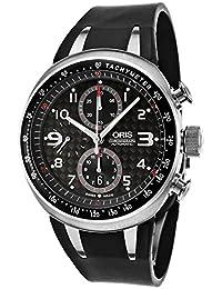 Oris TT3 Chronograph Automatic Titanium Mens Watch Calendar Rubber Strap 674-7587-7264-RS