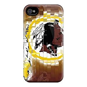 Hot Style WhD2419dBKt Protective Case Cover For Iphone4/4s(washington Redskins)