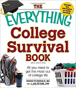 amazon the everything college survival book all you need to get