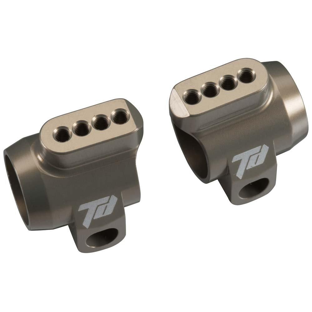 td330377 – Team Durango aluminio Rear Hub Carriers
