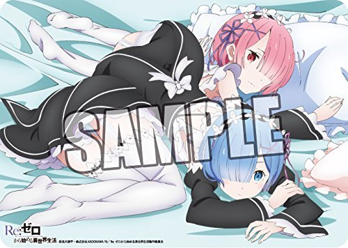 Anime versatile rubber mat Re: different world life from scratch ''rem & lamb. by Broccoli