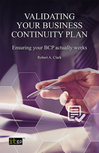 Validating Your Business Continuity Plan pdf