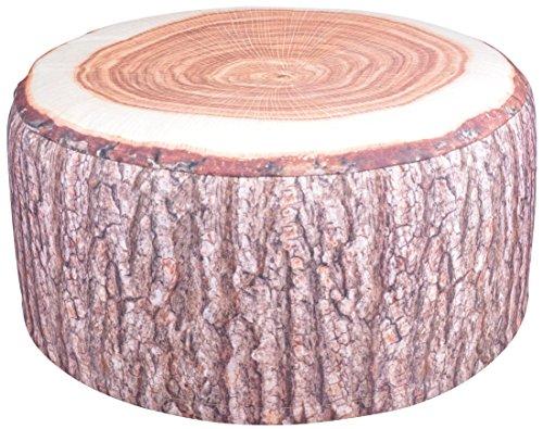 (Esschert Design BK014 Outdoor Poufs Garden Seat, Tree Trunk)