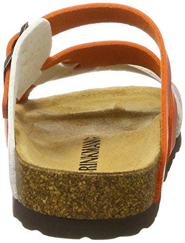 Dr. Brinkmann 700983 - Mules Mujer naranja (orange)