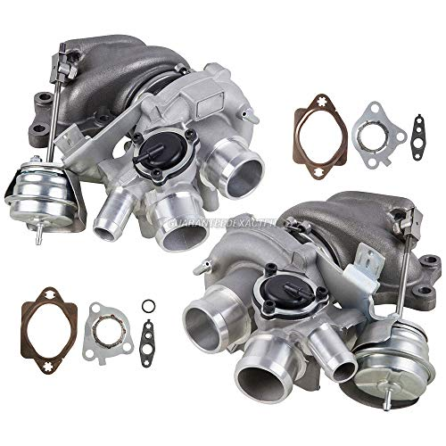 New Pair Turbo Kit With Turbocharger Gaskets For Ford F-150 EcoBoost 3.5L - BuyAutoParts 40-80658V1 New