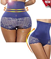 Invisable Strapless Body Shaper High Waist Tummy Control Butt lifter Panty Slim