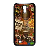 Hippies the Beatles Love Peace Inspired SamSung Galaxy S4 I9500 Nice Durable Hard Phone Accessories Case Cover