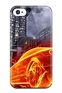 Ultra Slim Fit Hard Luke R Stein Case Cover Specially Made For Iphone 4/4s- Vehicle