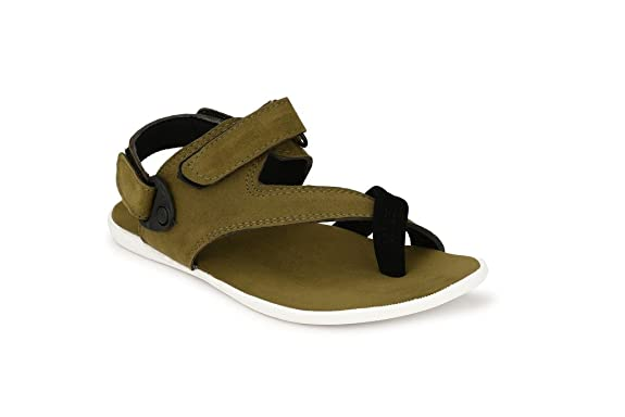 62eeeaea54f Big Fox Sandals For Men Suede Leather. Sandals Floaters available at Amazon  for Rs.