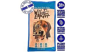 Wild Earth Vegan High Protein Formula Dry Dog Food (4-lb)