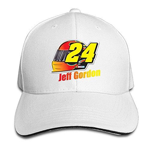 Jeff-Gordon-Checkered-Flag-Adjustable-Unisex-Hats-Baseball-Caps-Sanwich-Bill-Caps