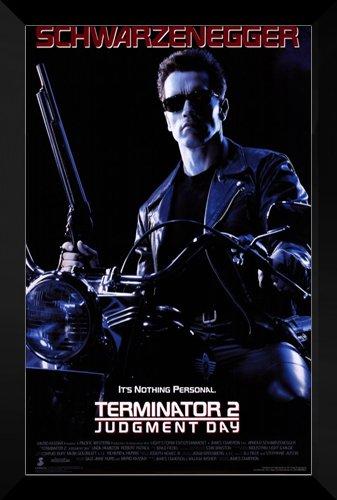 Terminator 2: Judgement Day FRAMED 27x40 Movie Poster by ArtDirect
