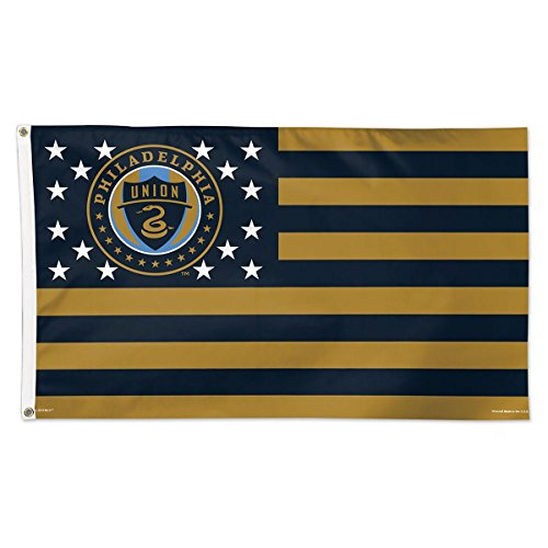 fan products of SOCCER Philadelphia Union 11198115 Deluxe Flag, 3' x 5'