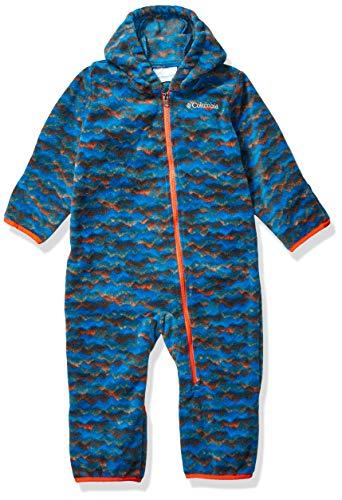 Columbia Snowtop II Baby Bunting, Soft Fleece Sleeper, state orange trees, 18/24