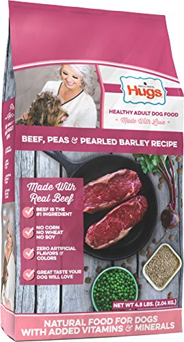 Paula Deen by Hugs Premium Select Dog Food, Beef and Rice, 4.5 lb For Sale