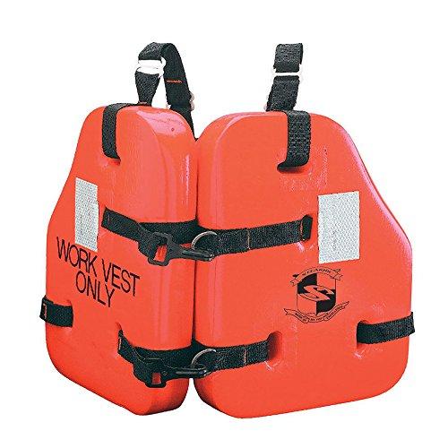 (Stearns Force II Life Vest - Orange - Universal)