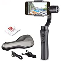 Zhiyun Smooth Q 3-Axis Handheld Gimbal Stabilizer for iPhone Samsung Huawei Google Smartphones and Gopro Hero 3/4/5/6 & Xiaomi Yi action Camera