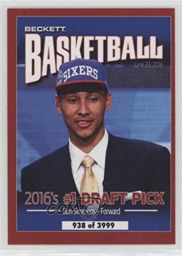 Kris Bryant  Ben Simmons  938 3 999  Trading Card  2016 Beckett Covers National Convention    Base   Kbbs