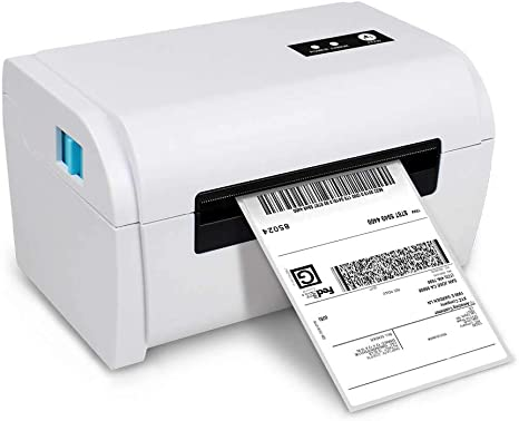 NETUM Shipping Label Printer, 160mm/s Direct High Speed Thermal USB Label Printer, 4X6 Shipping Label Maker, Support Windows Mac System, Compatible ...