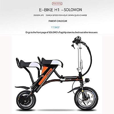 Wheel-hy Patinete Eléctrico Scooter Plegable con Manillar y ...