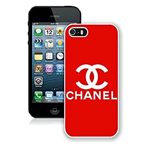 Fashion And Durable iPhone 5 Case Designed With Chanel 10 White Phone Case For iPhone 5 Cover
