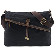 Crossbody Bag Canvas Hobo Bags Messenger Bag Shoulder Satchel Totes Handbags for Women and Men