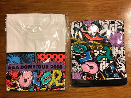 AAA DOME TOUR 2018 COLOR A LIFE Tシャツ マフラータオルセット