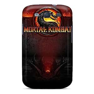 [mvlev3678xCDnp] - New Mortal Kombat Logo Protective Galaxy S3 Classic Hardshell Case